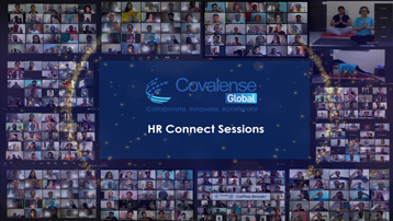 Covalense Global HR teams have successfully completed 60 Connect Sessions online during COVID times!